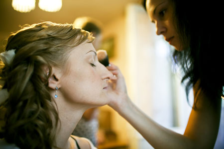 bridal and party make overs